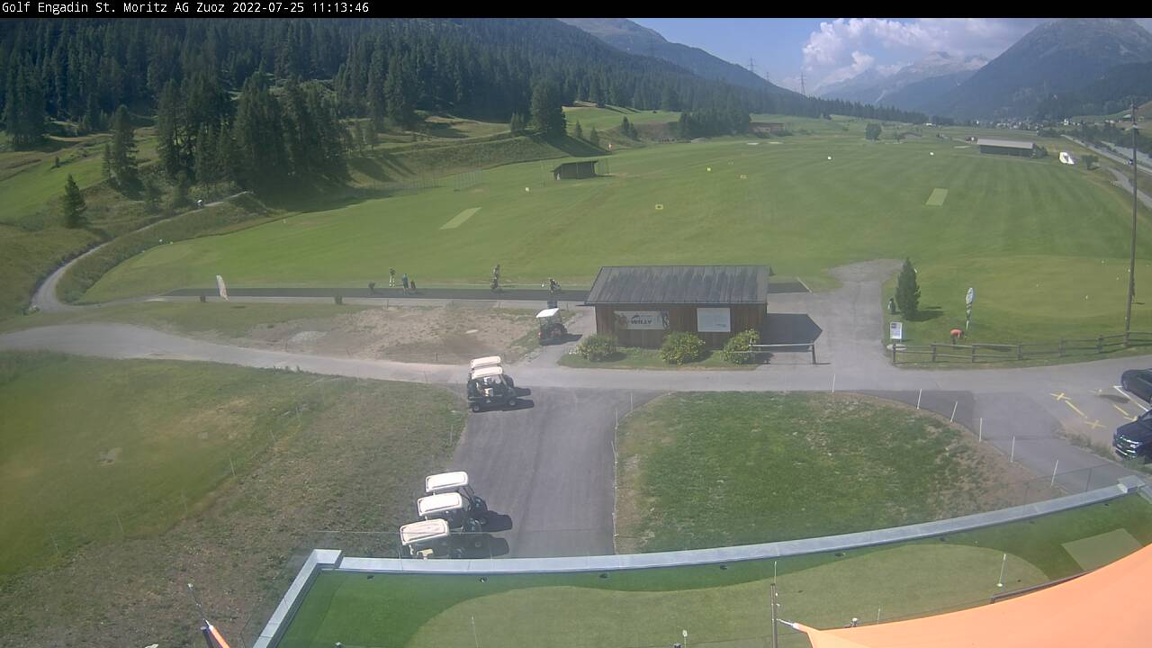 Webcam Golfplatz Zuoz